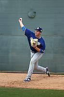 Logan Crouse - Los Angeles Dodgers 2016 spring training (Bill Mitchell)