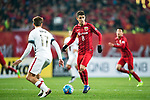Shanghai FC Forward Oscar Emboaba Junior (R) in action during the AFC Champions League 2017 Group F match between Shanghai SIPG FC (CHN) vs Western Sydney Wanderers (AUS) at the Shanghai Stadium on 28 February 2017 in Shanghai, China. Photo by Marcio Rodrigo Machado / Power Sport Images