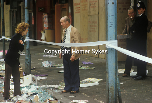 Brixton Riots London 1981 1980s.