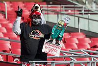 NWA Democrat-Gazette/BEN GOFF @NWABENGOFF<br /> Brad Elrod, a fan from Star City, attends the Arkansas vs Mississippi State game Saturday, Nov. 2, 2019, at Reynolds Razorback Stadium in Fayetteville.