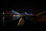 2017-08-28 Queensferry Crossing Lights