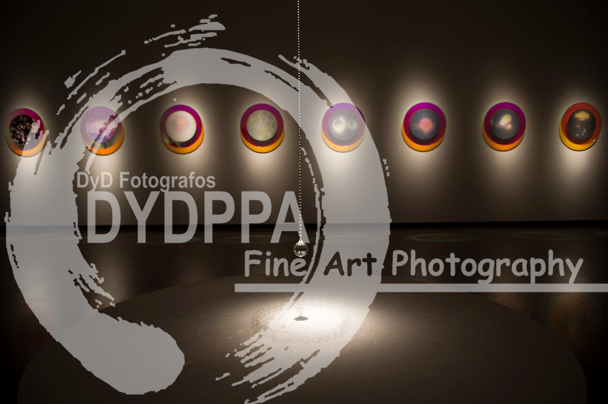 Mariko Mori with her work titled ''Miracle' 2001..Royal Academy of Arts presents Mariko Mori's first major exhibition in London since 1998 titled 'Rebirth', London, Great Britain, December 11, 2012. Photo by  i-Images / DyD Fotografos