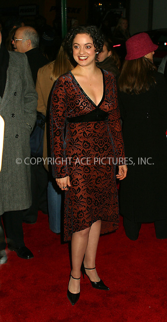 "Kali Rocha arriving at the World Premiere of ""Analyze That"" in New York. December 12, 2002. Please byline: Alecsey Boldeskul/NY Photo Press.   ..*PAY-PER-USE*      ....NY Photo Press:  ..phone (646) 267-6913;   ..e-mail: info@nyphotopress.com"