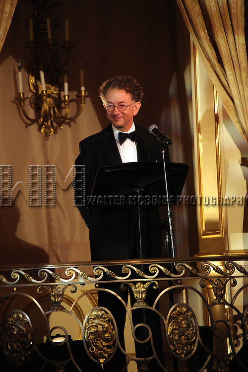 William Ivey Long attends the American Theatre Wing's annual gala at the Plaza Hotel on Monday Sept. 24, 2012 in New York.