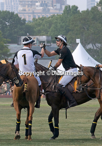 "PRINCE HARRY BANTERS AND NACHO FIGUERAS.play in the 3rd Annual Veuve Clicquot Polo Classic to benefit the American Friends of Sentebale, the global charity founded by Prince Harry and Prince Seeiso of Lesotho_27/06/2010.Mandatory Credit Photo: ©FRANCIS DIAS/DiasImages/NEWSPIX INTERNATIONAL..**ALL FEES PAYABLE TO: ""NEWSPIX INTERNATIONAL""**..IMMEDIATE CONFIRMATION OF USAGE REQUIRED:.Newspix International, 31 Chinnery Hill, Bishop's Stortford, ENGLAND CM23 3PS.Tel:+441279 324672  ; Fax: +441279656877.Mobile:  07775681153.e-mail: info@newspixinternational.co.uk"