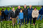 Supports Steven McCarthy, Pat O'Brien Aaron Kennelly, Mike Kennelly, Noel Carmody, Margaret McCathy, Listowel  at the Brosna V Listowel Emmets North Kerry Senior Championship final replay at  Bob Stack Park, Ballybunion on Saturday