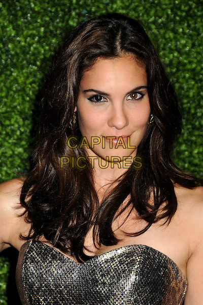 DANIELA RUAH.CBS Summer Press Tour Party 2010 held at The Tent, Beverly Hills, California, USA..July 28th, 2010.headshot portrait silver gold strapless metallic .CAP/ADM/BP.©Byron Purvis/AdMedia/Capital Pictures.