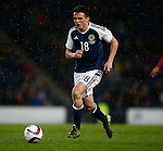 John McGinn of Scotland during the Vauxhall International Challenge Match match at Hampden Park Stadium. Photo credit should read: Simon Bellis/Sportimage