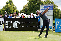 Ricardo Santos (POR) in action during the third round of the Hauts de France-Pas de Calais Golf Open, Aa Saint-Omer GC, Saint- Omer, France. 15/06/2019<br /> Picture: Golffile | Phil Inglis<br /> <br /> <br /> All photo usage must carry mandatory copyright credit (© Golffile | Phil Inglis)