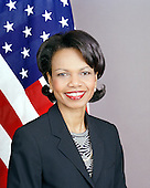 Official portrait of the 66th United States Secretary of State, Condoleezza Rice.  Doctor Rice took office on January 26, 2005.  She previously served President George W. Bush as National Security Advisor..Credit: Department of State via CNP