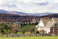 Homes in albemarle County, VA.  Photo/Andrew Shurtleff