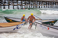 Dory Boat Races at the Ocean Festival in San Clemente