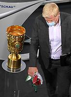 v. l. Oliver Kahn<br /> <br /> <br /> Fussball, Herren, Saison 2019/2020, 77. Finale um den DFB-Pokal in Berlin, Bayer 04 Leverkusen - FC Bayern München, 04.07. 2020, Foto: Matthias Koch/POOL/Marc Schueler/Sportpics.de