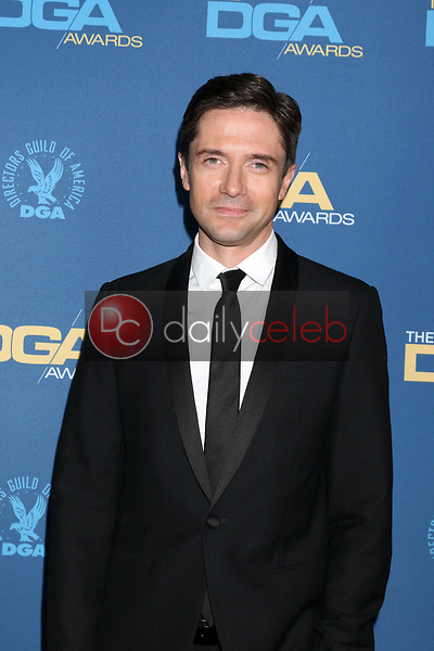 Topher Grace<br /> at the 71st Annual Directors Guild Of America Awards, Ray Dolby Ballroom, Hollywood, CA 02-02-19<br /> David Edwards/DailyCeleb.com 818-249-4998