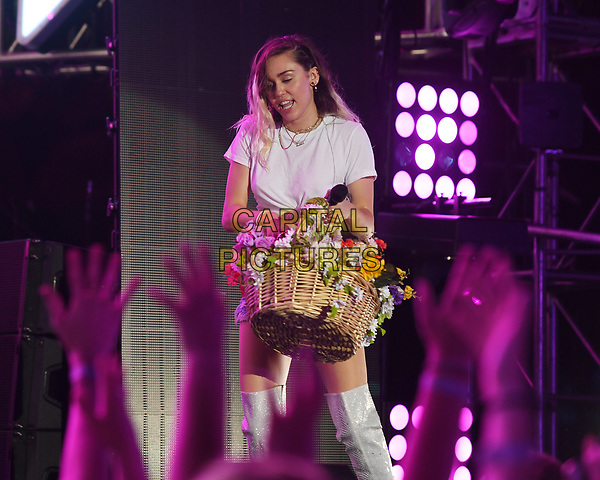 MIAMI BEACH , FL - JUNE 10: Miley Cyrus performs during the iHeart Summer 17 concert at the Fontainebleau on June 10, 2017 in Miami Beach, Florida.<br /> CAP/MPI04<br /> &copy;MPI04/Capital Pictures