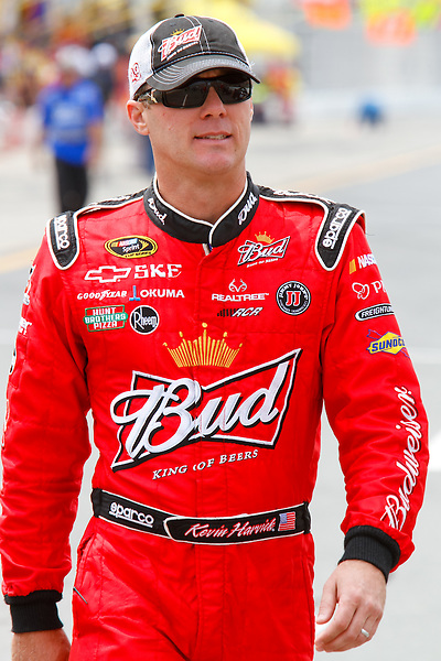 19 June, 2011: Kevin Harvick walks down pit road prior to the 43rd Annual Heluva Good! Sour Cream Dips 400 at Michigan International Speedway in Brooklyn, Michigan.