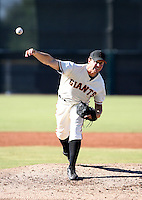 David Mixon / San Francisco Giants 2008 Instructional League..Photo by:  Bill Mitchell/Four Seam Images