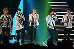 SHINee, June 25, 2011 : MTV VIDEO MUSIC AID JAPAN 2011 at Makuhari messe in Chiba, Japan. (Photo by Yusuke Nakanishi/AFLO) [1090]