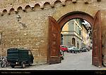 Porta San Miniato 1320 Medieval City Walls Florence