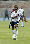 18 June 2004: Maribel Dominguez. The Atlanta Beat tied the New York Power 2-2 at the National Sports Center in Blaine, MN in Womens United Soccer Association soccer game featuring guest players from other teams.