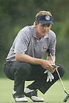 23rd September, 2006..European Ryder Cup Team player Luke Donald on the 15th green during the afternoon foursomes session of the second day of the 2006 Ryder Cup at the K Club in Straffan, County Kildare in the Republic of Ireland..Photo: Eoin Clarke/ Newsfile.