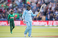 Jason Roy (England) acknowledges the crowd's applause after his dismissal during England vs Bangladesh, ICC World Cup Cricket at Sophia Gardens Cardiff on 8th June 2019