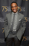 Hampton Fluker attends the 75th Annual Theatre World Awards at The Neil simon Theatre  on June 3, 2019  in New York City.