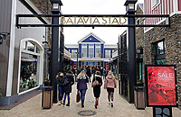 Nederland Lelystad-  Januari 2018.  Batavia Stad. Fashion outlet centrum. Sale.  Foto Berlinda van Dam / Hollandse Hoogte