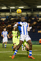Frank Nouble of Colchester United controls the ball under pressure from Dara O'Shea of Exeter City during Colchester United vs Exeter City, Sky Bet EFL League 2 Football at the JobServe Community Stadium on 24th November 2018
