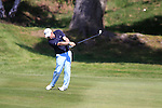 Paul McGinley on the 7th hole during Round 3 of the BMW PGA Championship at  Wentworth, Surrey, England, 22nd May 2010...Photo Golffile/Eoin Clarke.(Photo credit should read Eoin Clarke www.golffile.ie)....This Picture has been sent you under the condtions enclosed by:.Newsfile Ltd..The Studio,.Millmount Abbey,.Drogheda,.Co Meath..Ireland..Tel: +353(0)41-9871240.Fax: +353(0)41-9871260.GSM: +353(0)86-2500958.email: pictures@newsfile.ie.www.newsfile.ie.