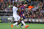 21.04.2015 Barceloona. UEFA Champions League, Quarter-finals 2nd leg. Picture show Leo Messi in action during game between FC Barcelona against Paris Saint-Germain at Camp Nou