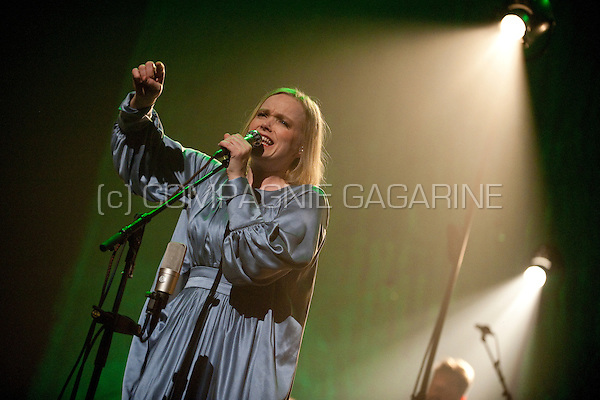 Concert of the Norwegian singer / songwriter Ane Brun in the Bourla, Antwerp (23/04/2012)