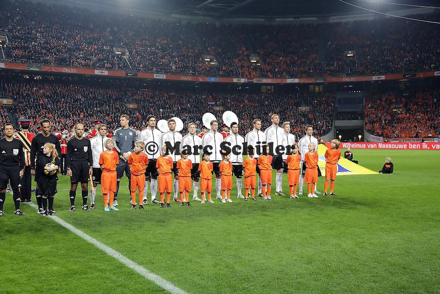 Deutsche Nationalmannschaft in der Amsterdam ArenA
