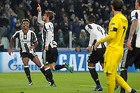 Esultanza Gol Daniele Rugani Juventus 2-0 Goal celebration <br /> Torino 07-12-2016 Juventus Stadium Football Calcio Champions League 2016/2017 Juventus - Dinamo Zagreb . Foto Filippo Alfero Insidefoto