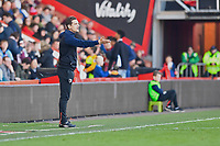 AFC Bournemouth U21 Manager Shaun Cooper urges his team on from the sideline during AFC Bournemouth Under-21 vs Liverpool Under-21, Premier League Cup Football at the Vitality Stadium on 24th February 2019