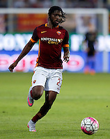 Calcio, Serie A: Frosinone vs Roma. Frosinone, stadio Comunale, 12 settembre 2015.<br /> Roma's Gervinho in action during the Italian Serie A football match between Frosinone and Roma at Frosinone Comunale stadium, 12 September 2015.<br /> UPDATE IMAGES PRESS/Riccardo De Luca