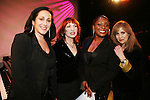 Emily Bindiger, Margaret Dorn, Carolee Goodgold and Andricka Hall  - Celebrating Women Artists Over 40 - The New York Coalition of Professional Women in the Arts & Media, INC. in association with American Federation of Television & Radio Artists and the Screen Actors Guild presents VintAGE on March 1, 2010 at Peter Norton Symphony Space, New York City, New York. (Photo by Sue Coflin/Max Photos)