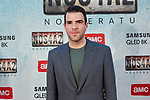 Zachary Quinto attends to NOS4A2 premiere at Capitol Cinema in Madrid, Spain. May 21, 2019. (ALTERPHOTOS/A. Perez Meca)
