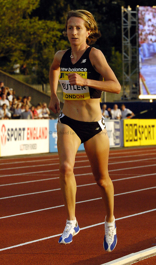 Photo: Richard Lane..Norwich Union London Grand Prix Athletics at Crystal Palace. 30/07/2004..Kathy Butler in the womens 5000m.