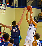 February 28, 2020: Paul Atkinson [20] of Yale scored 18 points as the Bulldogs defeated Penn, 76-73.  Yale was down 10 points with 2:28 left  .The exciting Ivy League game was held at Payne Whitney Gymnasium in New Haven Connecticut.  Heary/Eclipsesportswire/CSM