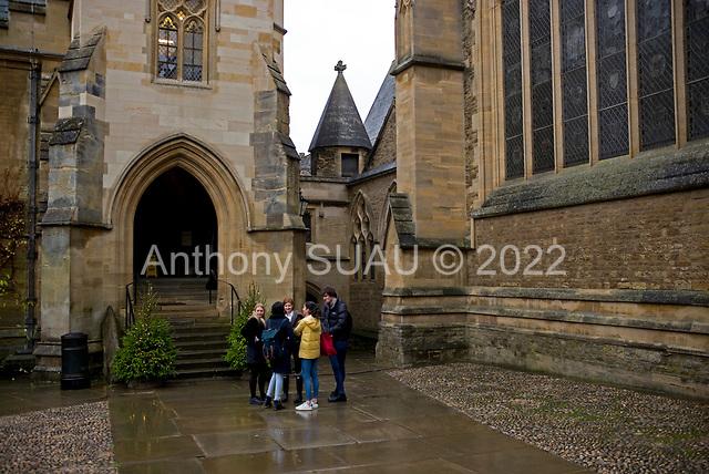 Oxford University<br /> Oxford, United Kingdom<br /> November 28, 2018<br /> <br /> Merton College.