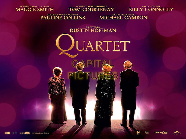 BRITISH POSTER ART.in Quartet (2012) .*Filmstill - Editorial Use Only*.CAP/FB.Supplied by Capital Pictures.