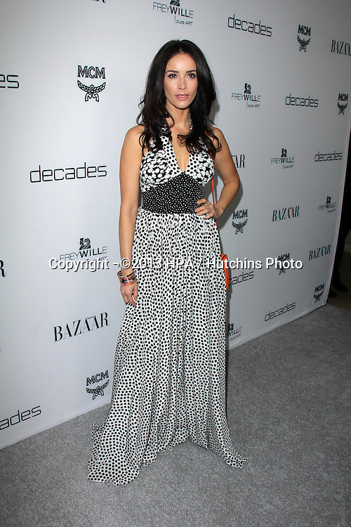 LOS ANGELES - FEB 28:  AbigaIl Spencer arrives at the Harper's Bazaar Celebrates The Launch Of The Dukes of Melrose Event at the Sunset Tower on February 28, 2013 in West Hollywood, CA