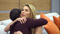 Celebrity Big Brother 2017<br /> Sam Thompson and Brandi Granville.<br /> *Editorial Use Only*<br /> CAP/KFS<br /> Image supplied by Capital Pictures