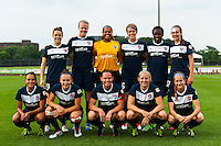 Sky Blue FC starting XI. Sky Blue FC and FC Kansas City played to a 2-2 tie during a National Women's Soccer League (NWSL) match at Yurcak Field in Piscataway, NJ, on June 26, 2013.