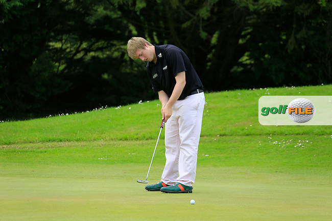 Michael Ryan (New Ross) during the final round of the 2015 Irish Boys Amateur Open Championship, Tuam Golf Club, Tuam, Co Galway. 26/06/2015<br /> Picture: Golffile | Fran Caffrey