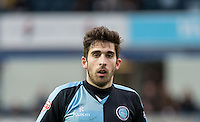 Max Kretzschmar of Wycombe Wanderers during the Sky Bet League 2 match between Wycombe Wanderers and Crawley Town at Adams Park, High Wycombe, England on 28 December 2015. Photo by Andy Rowland / PRiME Media Images