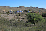 Landscape in Sierra Alhamilla mountains, near Nijar, Almeria, Spain