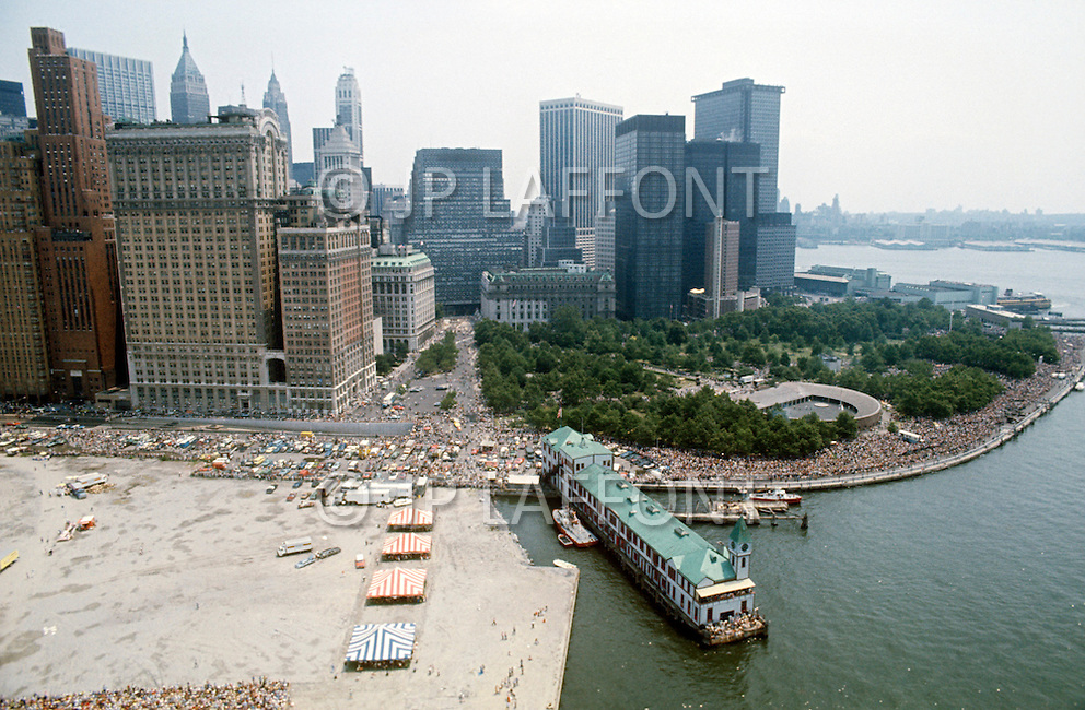 New York City, New York, July 4th, 1976 - Celebration of America's Bicentenial.