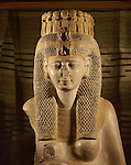 Limestone statue of queen Merytamun (Merit-amun
